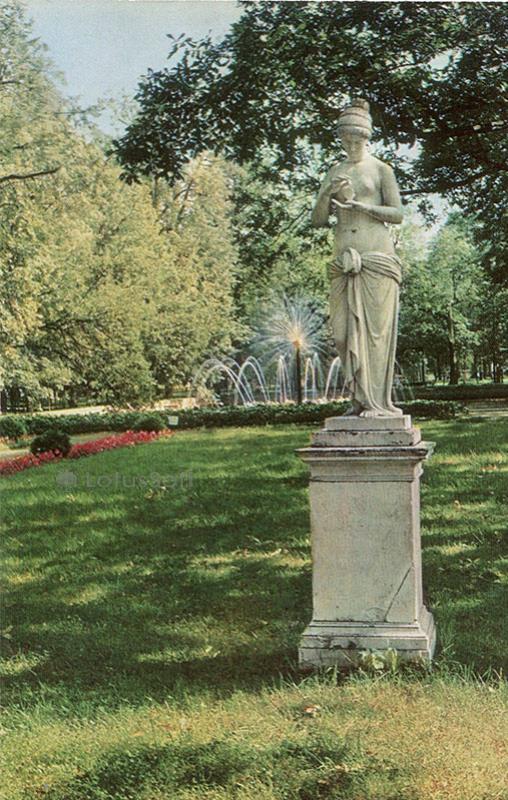 Петродворец. Психея, 1970 год