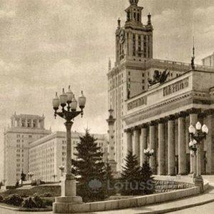 МГУ. Главный вход, 1953 год