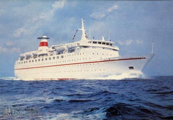The motor ship Odessa, 1976