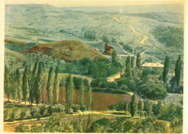 Окресности Кисловодска. Змеиная балка, 1963 год