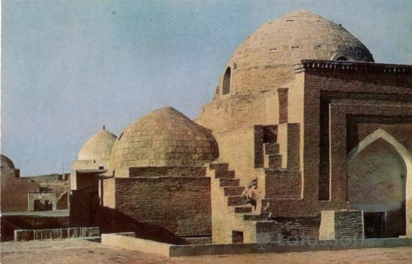 Mausoleum of Seyid Alauddin. XIV century, in 1971