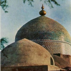 Мавзолей Пахлаван-Махмуда. XIX век, 1971 год