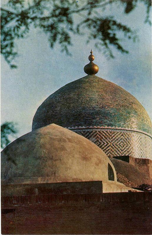 Mausoleum Pakhlavan Mahmoud. XIX century, in 1971