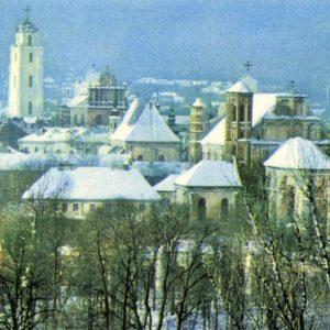 Вильнюс зимой, 1981 год