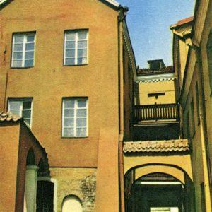 Вильнюс. Реставрированный уголок Старого города, 1981 год