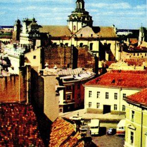 Вильнюс. В Старом городе, 1981 год