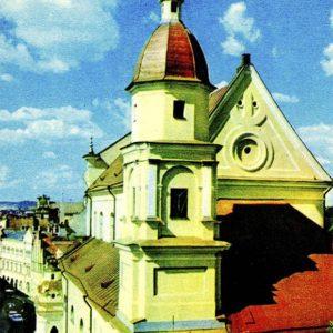 Вильнюс. Костел св. Терезы, 1981 год