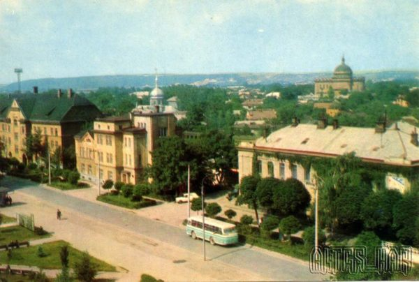 Ivano-Frankivsk. Leningradskaya st, 1973