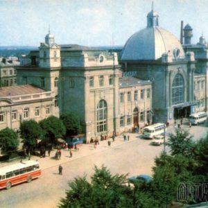 Ивано-Франковск. Железнодорожный вокзал, 1973 год