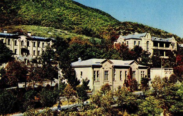 "Пятигорск. Корпуса санатория ""Ласточка"", 1971 год"