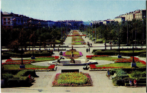 Челябинск. Проспект им. Богдана Хмельницкого, 1974 год