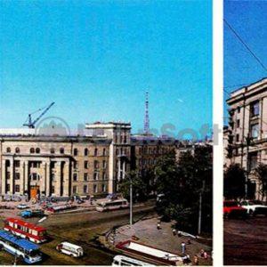 Voronezh. Building management South-Eastern Railway, 1980