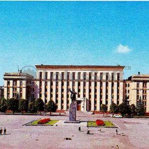 Voronezh. Square named after VI Lenin, in 1980