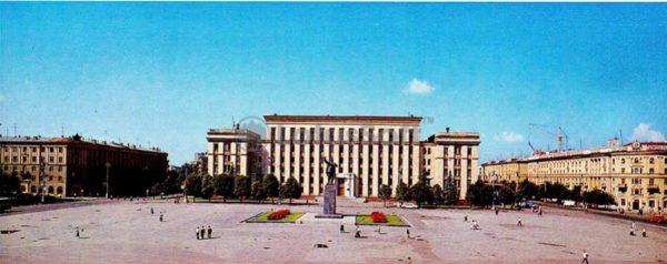 Воронеж. Площадь имени В.И. Ленина, 1980 год