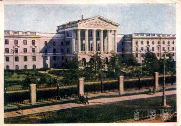 Минск. Политехнический институт, 1956 год