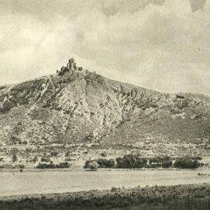 Georgian Military Road. Ancient monastery near the village of Mtskheta, 1955