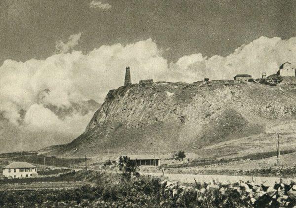 Военно-грузинская дорога. Старинная крепость Арша по дороге в Мцхету, 1955 год