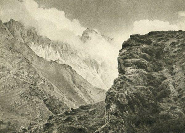 Военно-грузинская дорога. У Крестового перевала, 1955 год