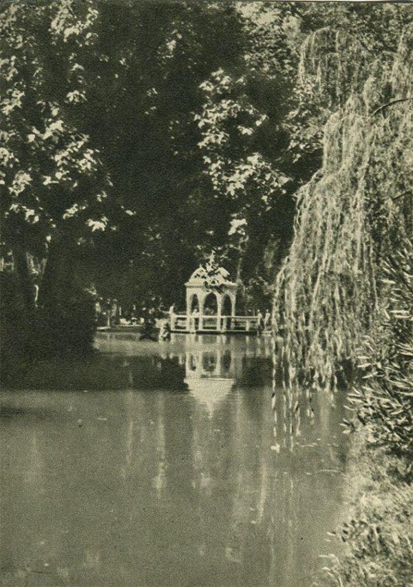 Ахали-Афони. Беседка, 1955 год