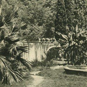 Ахали-Афони. Водопад, 1955 год