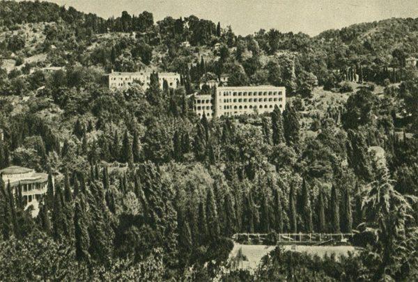 Черноморское побережье Кавказа. Хоста, 1955 год