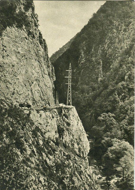 Дорога на Красную Поляну, 1955 год