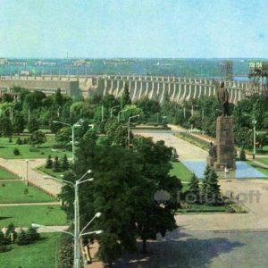 Zaporozhye. Dneproges, 1973