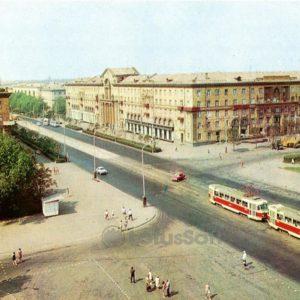 Zaporozhye. Mayakovsky Square, 1973