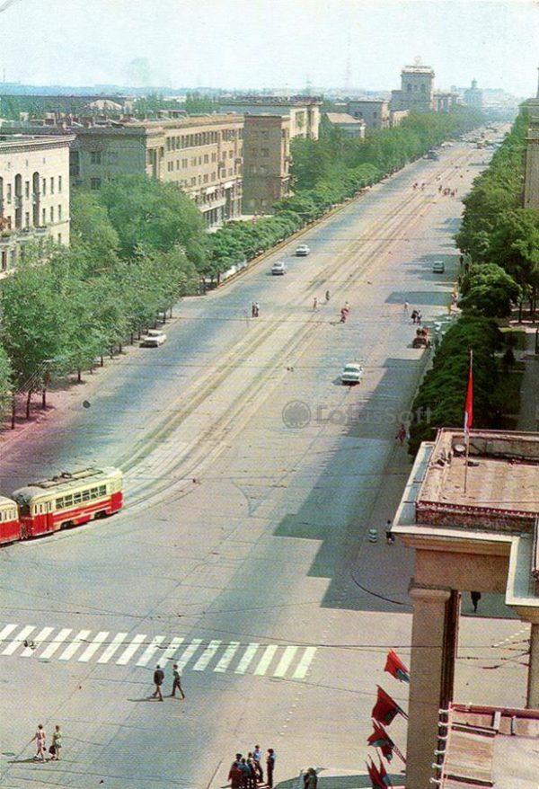 Запорожье. Проспект Ленина, 1973 год
