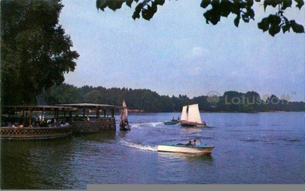 Калинград. Озеро Верхнее, 1975 год