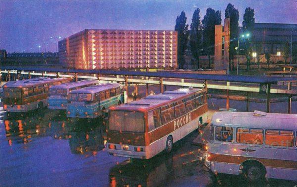 Калинград. Автовокзал, 1975 год