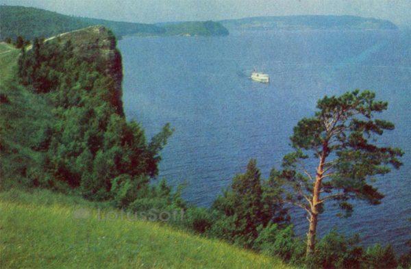 Тольятти. Куйбышевское море, 1972 год