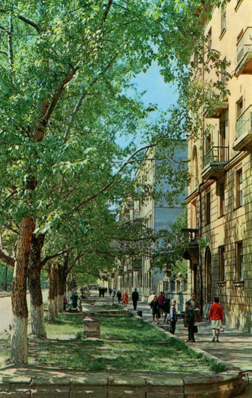 Иваново. Улица Красных Зорь, 1971 год