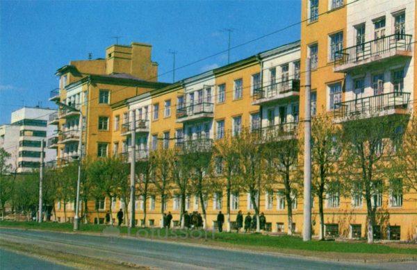 Иваново. Жилой дом на проспекте Ленина, 1971 год