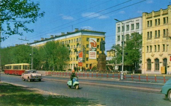 Иваново. Проспект Ленина, 1971 год