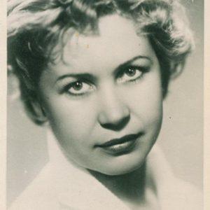 Inna Makarova, 1956