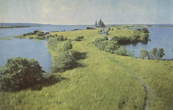 Остров Кижи – музей заповедник, 1968 год