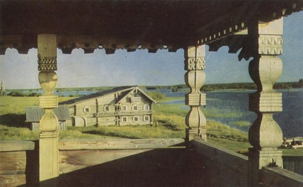 Кижи. Дом Ошевнева. XIX в, 1968 год