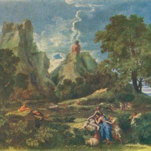 Пейзаж с полфемом. Пуссен, 1957 год
