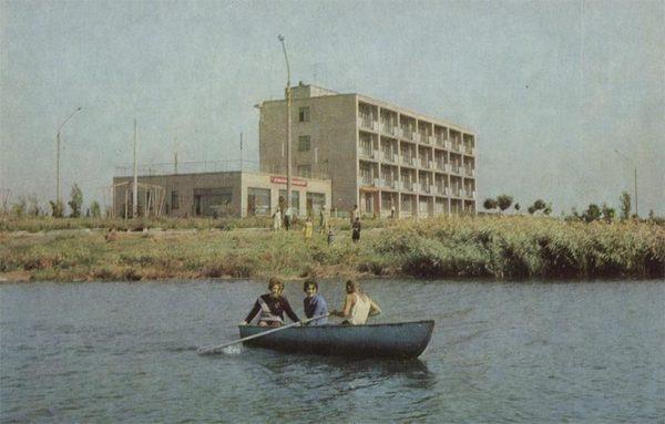 Новочеркасск. Санаторий профилакторий электродного завода, 1973 год