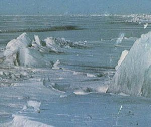 Baikal in winter, 1978