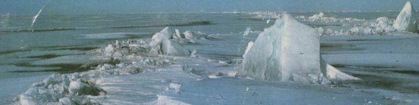 Байкал зимой, 1978 год