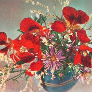 Kompoziitsiya of flowers, 1975