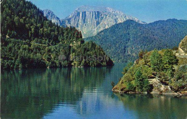 Lake Riza, 1974