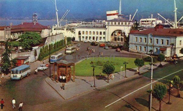 Морской вокзал, Батуми, 1974 год