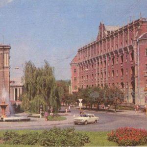 "Гостиница ""Октябрь"". Ворошиловоград, 1978 год"
