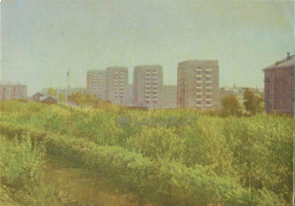 Свердловск, высотные жилые дома на улице Восточной, 1967 год