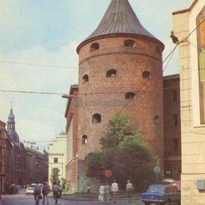 Пороховая башня, Рига, 1983 год