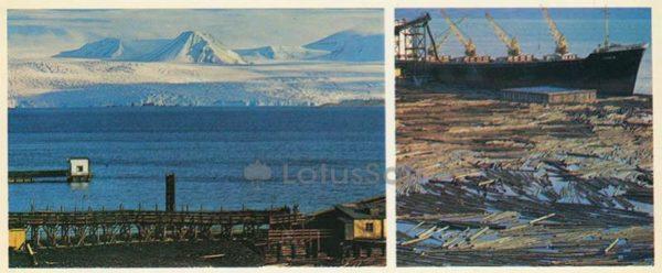 Вид на ледник Норденшильда, 1978 год