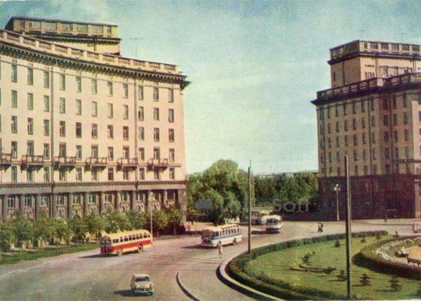 Автово. Комсомольская площадь. Ленинград, 1962 год